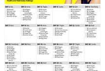 30 days body challenge