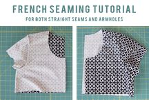 "Sewing - Tutorials and How To's / Collection of some of my favourite sewing tips, tutorials and how to's! See my other ""Board"" for: ""Pattern Making / Cutting & Alterations"" here: http://pinterest.com/clairesews/pattern-making-cutting-alterations/ and ""Sewing - Knit & Jersey Fabrics: Tutorials & How To's"" here: http://www.pinterest.com/clairesews/sewing-knit-jersey-fabrics-tutorials-how-tos/ / by Claire Sew-Incidentally"