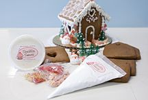 Allergen friendly gingerbread houses, kits and recipes / Allergen friendly, nut free, dairy free, gluten free and other ideas for the holidays.