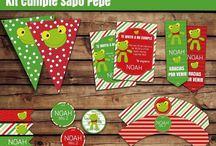 Cumple tematico Sapo Pepe