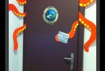 ajtó dekoráció