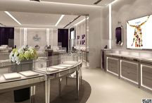 STAINLESS STEEL JEWELRY SHOWCASES(METAL)