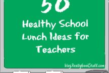 TEACHER STUFF / Clothing, food, balance tips, exercise-all things to help you be a better teacher.