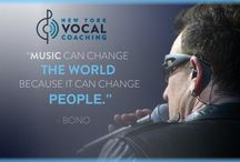 NYVC Inspiration / Inspirational Quotes about Music and Singing from New York Vocal Coaching