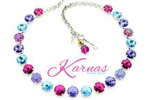 Swarvoski Crystal Jewelry / My Personal Collection Of Crystal Jewelry From Karnas Design Studio