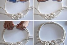 Nautical Knot Rope Necklace