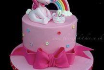 My little pony cakes  -  Dortíky My little pony