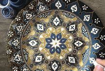 Decorative Plates - Mandalas