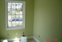 Casa pintura, ventanas, puertas