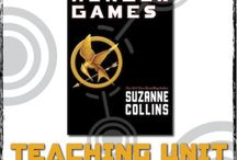The Hunger Games / Everything you need to teach The Hunger Games by Suzanne Collins; board created by Tracee Orman from Hunger Games Lessons www.hungergameslessons.com