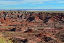 Petrified Forest National Park, Arizona / The beauty and mystery of Arizona's Painted Desert and Petrified Forest National Park.