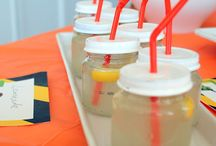 Kids bday party ideas / by EricaandChris Hutson