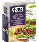 Veggie ground round / Sans-viande hachée / Yves Veggie Cuisine veggie ground round varieties available in Canada. Variétés de sans-viande hachée Yves Veggie Cuisine disponibles au Canada.