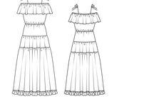 Patron BURDA - Robes