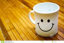 CUPs & MUGs / Wherever and whenever you are, smile all the time