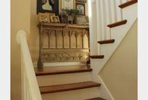 Stairway decor