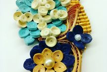 Jewelry quilling paper
