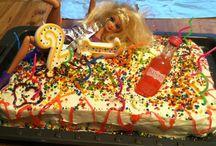 Creative Cake with Barbie Doll