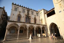 New Venue - Traditional Palace wedding in Dubrovnik, Croatia / This 15th century building is located in the heart of the Old Town of Dubrovnik and is one of the most popular locations for a civil wedding in Dubrovnik.