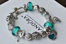 tropical blue pandora bracelet