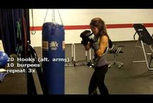 Boxing fitness video