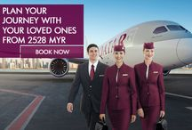 Newsletter Offers (March 2014) / Latest offers across the Qatar Airways network. Visit the pins of your respective country for more details. / by Qatar Airways