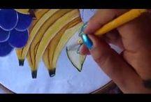 Videos Pintura en Tela..