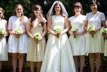 Bridesmaids and flower girls / Wedding florist based in Milton Keynes. British,scented and natural flowers.
