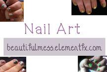 Beautiful Mess - Nail Art / Nail Art I've tried.