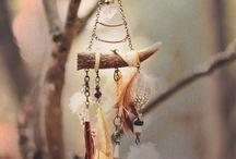 Antler hangings