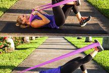 träning med gummiband