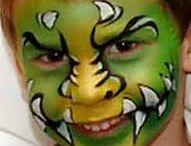 Face painting, Schmink