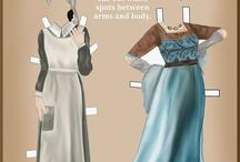 Crafties: Paper Dolls / Vintage paper dolls, just to collect!