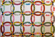 Quilts - Double Wedding Ring / by Carol Bornsheuer