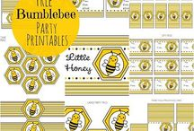 B's 8th birthday party / Ideas for Bailey's bee party.  / by Monica Diaz