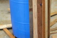 fountains and rain barrels