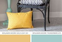 Color-Gray yellow teal