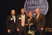 11th Annual Ethics in Business & Community Awards / Presented by RecognizeGood, the Ethics in Business & Community awards honor Central Texas businesses, nonprofit organizations and individuals for their exemplary ethical standards and behavior.