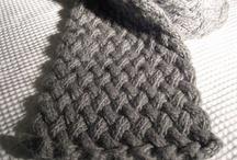 Strikk - skjerf / knitting