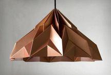 origami lampa