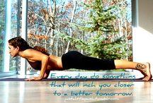 yoga / by Chelle Brown Machado Williams