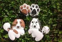 bestie / Handmade pendants, ornaments, dog, tornjak, custom made