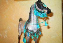 My works for horse model / Амуниция моего авторства