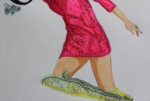 Fashion Illustration / DIY, Fashion, Fashionillustration, Illustration