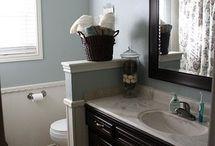 bathroom ideas / by Tambrey Webb