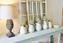 Entry Way Inspiration / Inspiring Modern Farmhouse Entry Decor Ideas