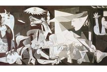 Picasso(3.2) / Guernica, appropriations, man/woman, artist/model.....