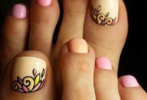 Τέχνη για νύχια των ποδιών