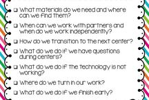 classroom management/procedure ideas / Techniques and procedure ideas to assist with classroom management.