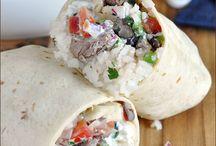 Sandwiches, tacos, pizza, burritos... / by Victoria Slowek